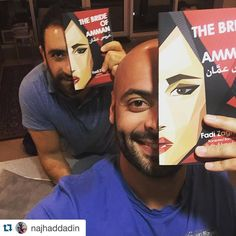 Naji Haddadin and Fadi Zaghmout Amman, Carnival, Halloween Face Makeup, Bride, Wedding Bride, Bridal, Carnavals, The Bride, Brides