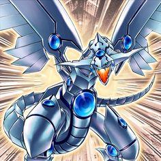 dragon luminoso de ojos azules