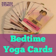 26-pack of Good Night, Animal World Bedtime Yoga Cards for toddlers and preschoolers | Kids Yoga Stories [Press Release]