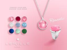 Change your gem choose your mood #interchangeable #gems #romantic
