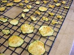 dehydrated foods zucchini chips