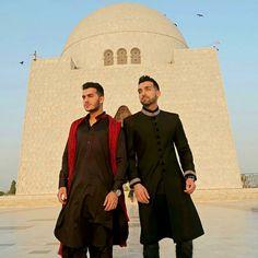 Shahveer Jafry and Sham Idrees at Mazar-e-Quaid❤️