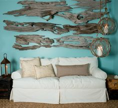 Guide To Hanging A Grouping Of Artwork, Photographs Or Driftwood