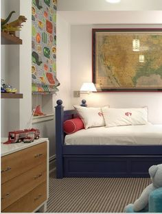 Modern & Traditional Mix - boys room