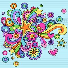 Hand-Drawn Notebook Doodle Abstract Star- Vector Illustration by blue67design by blue67design, via Flickr