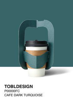 Pop-up cup carrier Designed by TOBLDESIGN tobl.kr . 1구부터 5구까지, 한번에 펼처서 테이크아웃 다양하고 은은한 색감은 커피의 향에 가치를 더합니다 커피캐리어(컵캐리어) 하나로 당신의 색을 표현하세요  Colorful takeout with TOBL DESIGN