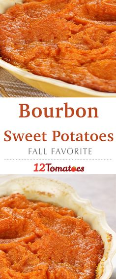 Bourbon Sweet Potatoes- These were such a hit at Thanksgiving last year! Definitely making them again.