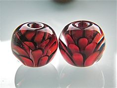 Made to order Chrysanthemum Flower earring pair by carolinedousi