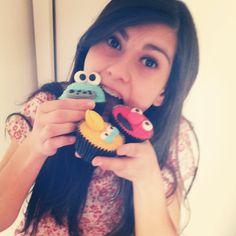 Cupcakes Vila Sésamo