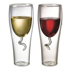 Wine Glass Set Of 2 now featured on Fab.