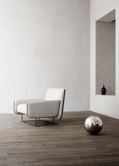 Erik Jørgensen's Ovo easy chair recalls folded sheets of fresh pasta