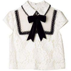トップ ❤ liked on Polyvore featuring tops and white top