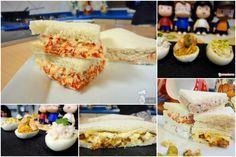 ideas faciles de rellenos sandwich-canapes