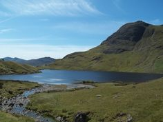 Pavey Ark and Stickle Tarn in the Lake District in July 2011. It was an unbelievably beautiful day