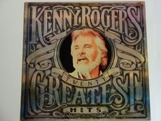 "Kenny Rogers Twenty Greatest Hits - ""The Gambler"" - ""Ruby, Don't Take Your Love to Town"" - Liberty Records 1983 - Vintage Vinyl Record Album by notesfromtheattic on Etsy"