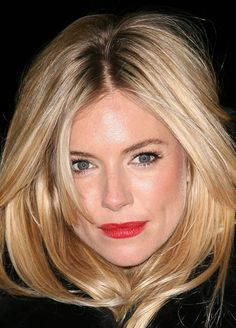 Sienna Miller: hair color.