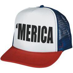 'Merica Hat  Loooove it. Haha!