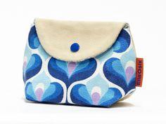 Vintage fabric Makeup bag from EllaOsix by DaWanda.com