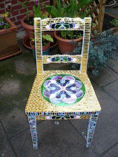 Art  Mosaic chair