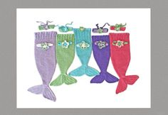 Crochet Baby Mermaid Tail Pattern Newborn by DeborahOLearyPattern