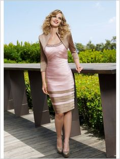Wedding Guest Dresses With Jacket Accent Line For Wedding Dresses - Dress Inspiration for Women