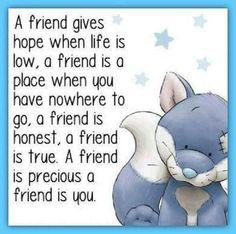 (via Joy Lenton) A friend is you..