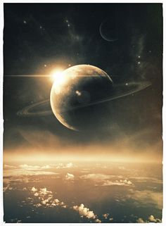 A new dawn /by Michael Schmid #digital #art #SciFi