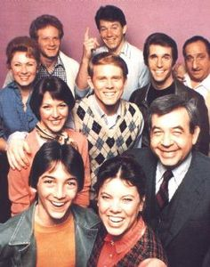 """Happy Days"" What a great family show. Of all the programs I watched growing up, I remember this one most fondly."