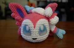 Baby Slyveon Crochet Patter