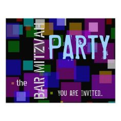 Colorful Bat Mitzvah Bar Mitzvah party Invitation today price drop and special promotion. Get The best buyReview          Colorful Bat Mitzvah Bar Mitzvah party Invitation today easy to Shops & Purchase Online - transferred directly secure and trusted checkout...