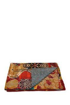Karma Living Handcrafted Cloth Throw