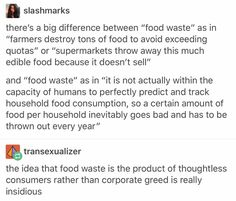 The biggest contributors to pollution, waste, etc is big business hands down. Capitalism is destroying our planet. A Silent Voice, Intersectional Feminism, The More You Know, Faith In Humanity, Text Posts, Worlds Of Fun, Social Justice, Real Talk, In This World