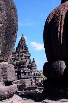 Prambanan Temple Complex, Yogyakarta, Indonesia.     Wow that's old