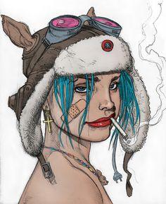 Tank Girl by Brian Bolland