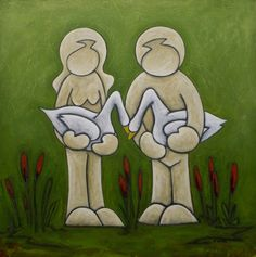 Love-Birds Duffy, Love Birds, Disney Characters, Fictional Characters, Artist, Artists, Fantasy Characters