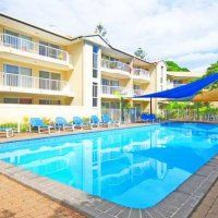 Paradise Grove Holiday Apartments - Pool Facilities - Affordable Gold Coast Family Apartments