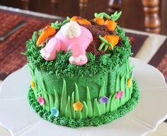 Easter cake ~ bunny xmmendez