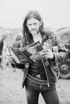 Lemmy from Motorhead does.