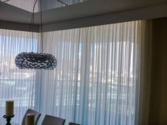 Curtains Pinch Pleated Sheers Wood White Cornice St Tropez Sunny Isles Beach