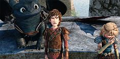 RTTE | Hiccup the stable boy x3 I have to say it would have been better with a Princess Bride reference