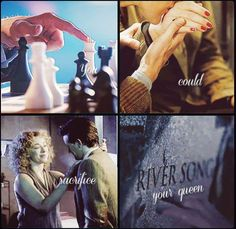 """""""you could sacrifice your queen"""" (Name of the Doctor)"""