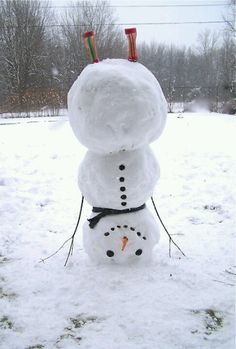 Snow fun ...
