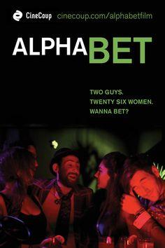 Alpha Bet, Movie Poster Option B, #Comedy #Romance Vote at www.cinecoup.com