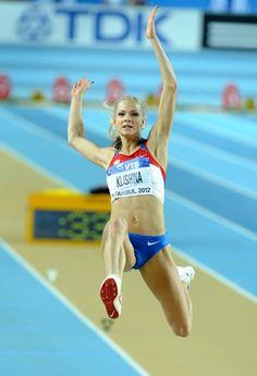 Darya Klishina - 14. Dünya Salon Atletizm Şampiyonası - İstanbul  #klishina
