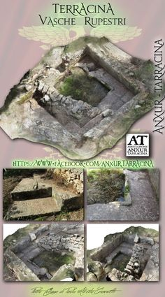 tanks dug into the rock ... Vasche rupestri