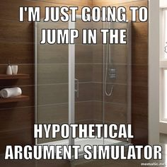 Hypothetical argument simulator