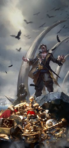 Kingsmoot Euron Greyjoy  by *zippo514