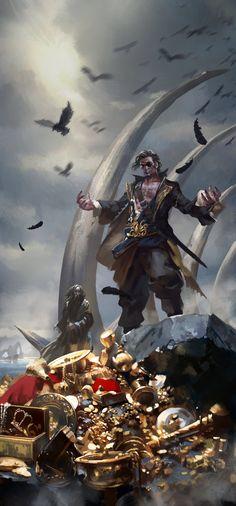 Kingsmoot Euron Greyjoy by *zippo514 on deviantART