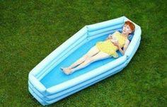 coffin pool