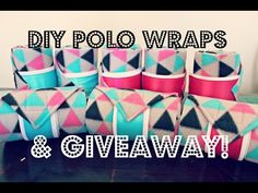 DIY POLO WRAPS & GIVEAWAY! *CLOSED* - YouTube